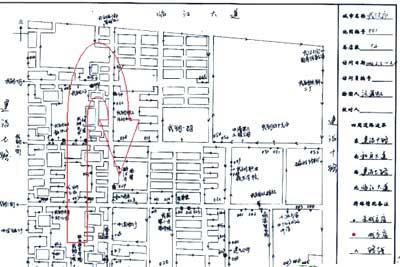决胜终端    上图是广州会凌武汉分公司一位同事绘制的客户分布图