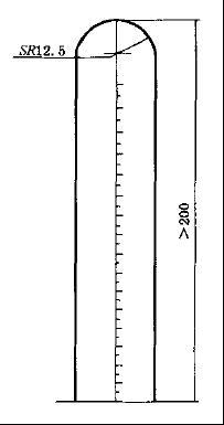 避孕套长度测量工具