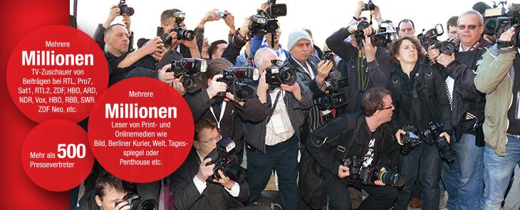 全球众多媒体报道柏林成人展VENUS
