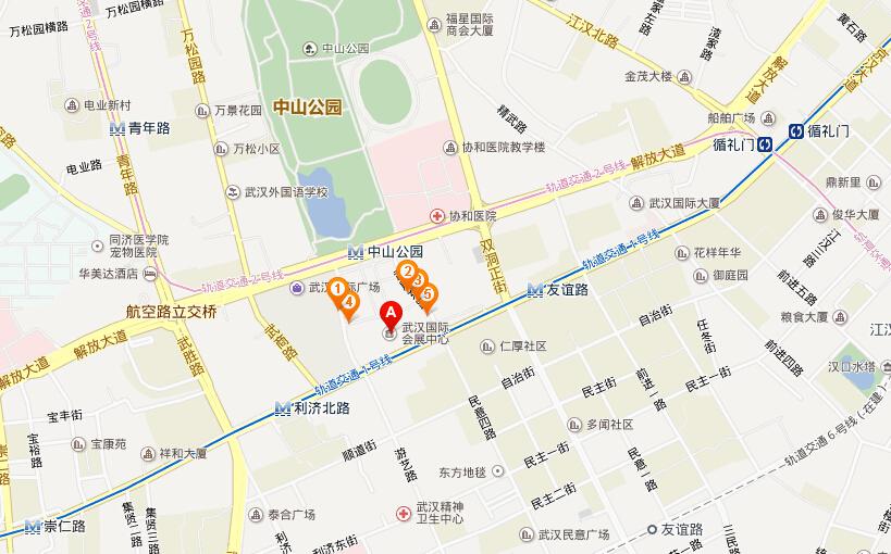 2015年武汉成人展_2015中国(武汉)国际成人用品展暨成人电商节交通信息