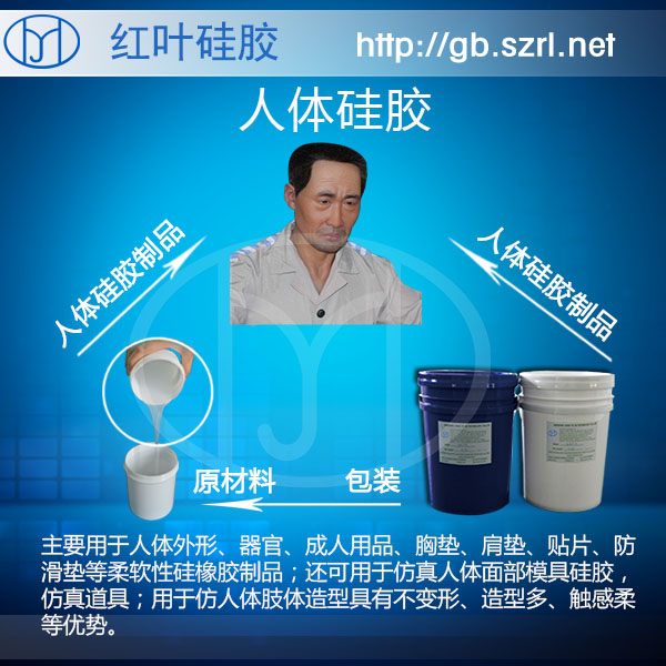 深圳人体模特专用矽利康半透明性用品硅橡胶