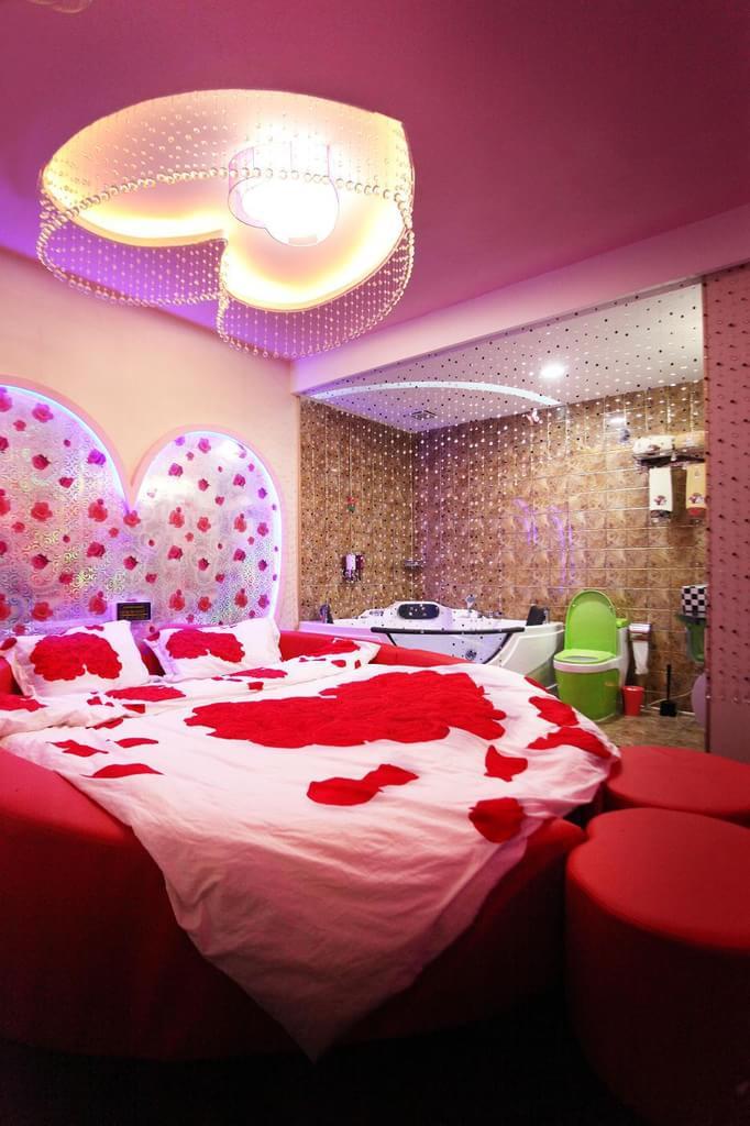 日本情趣酒店装修成这样 让人看了害羞