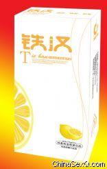 铁汉(香橙味)安全套