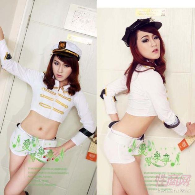 游戏制服赛车服女警察服(不含帽子)