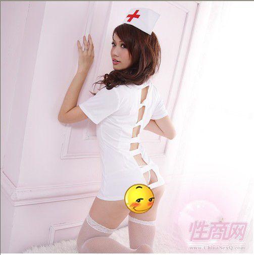 情趣内衣护士装白色 情侣用品批发