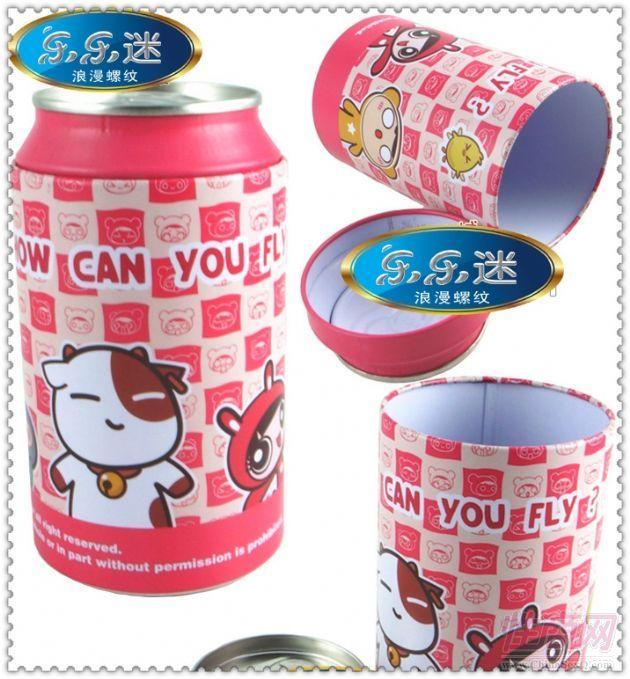 创意可爱套套 送男生女生朋友礼物 易拉罐罐头套套个性避孕套企业会员