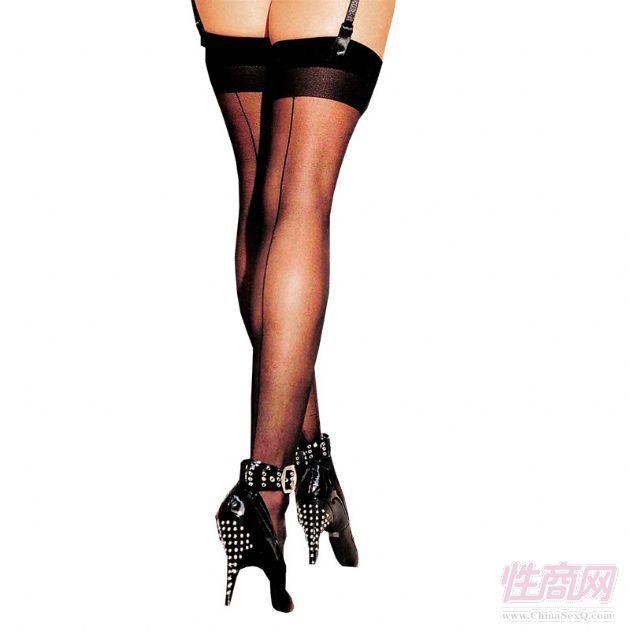 产品介绍:HOT透明超薄性感长筒袜 90023。 如果你没有一双紧致修长的腿,那么一定要为自己置备一双能美饰腿型,拉伸腿长的透明超薄长筒袜,为你的性感加分,魅力指数升级。 名称:HOT透明超薄性感长筒袜 款号:90023 颜色:黑色 尺码:均码 材质:100% 锦纶 产地:台湾 产品备注:可适用于身高152-178cm、体重40-70kg。 洗涤方法:冷水同色洗涤,只可手洗,防止暴晒,自然晾干。 亮点: 收缩性强,紧贴腿部,美饰腿型。 超薄质感,触感丝滑,性感诱惑。 独特中线,设计新颖,时尚优雅。