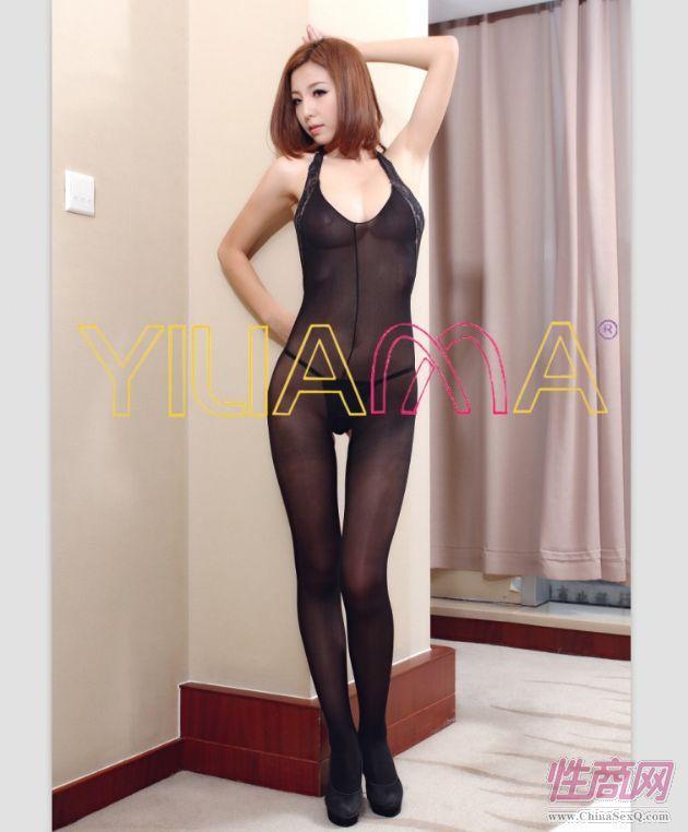 广东品牌情趣丝袜批发依莲娜时尚性感花边领露背包芯