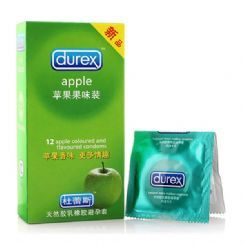 杭州欲望城市成人用品杜蕾斯苹果味安全套