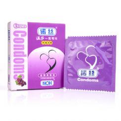 若丝安全套,若丝葡萄味避孕套3只装