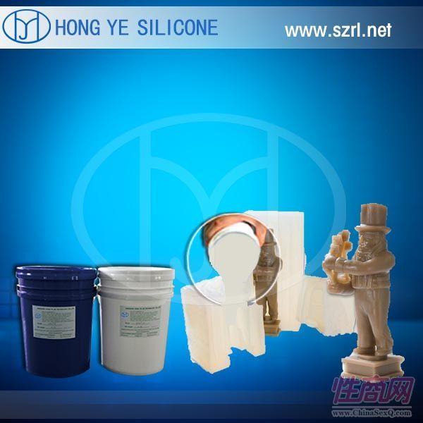 山西耐撕裂强液体模具硅胶耐老化工艺品模具硅胶