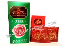 英国索罗门香榭玫瑰避孕套-安全套