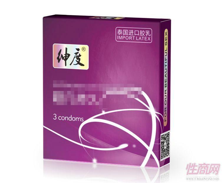 绅度避孕套 经典系列 超凡安全套3支装-安全套