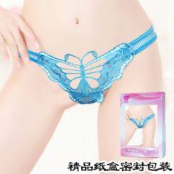 S9027女式内裤情趣内裤大蝴蝶镂空-情趣内衣