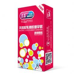 兰若15款国产畅玩系列8支装激情颗粒避孕套安全套-安全套
