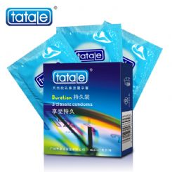 tatale 3只装超凡避孕套-安全套