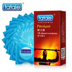 tatale 12只装耐力避孕套