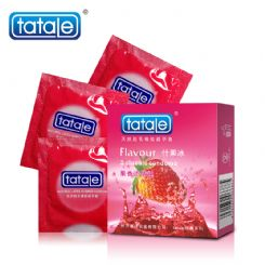tatale 3只装什果味避孕套-安全套