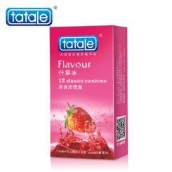 tatale 12只装什果冰避孕套-安全套