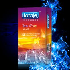 tatale 12只装冰火避孕套-安全套