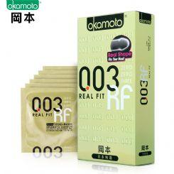 冈本10只装003黄金超薄避孕套