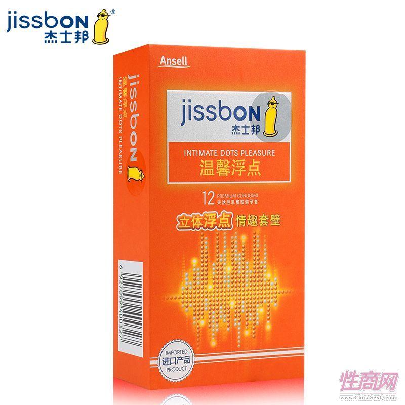 杰士邦12只装温馨浮避孕套