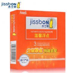 杰士邦3只装温馨浮避孕套