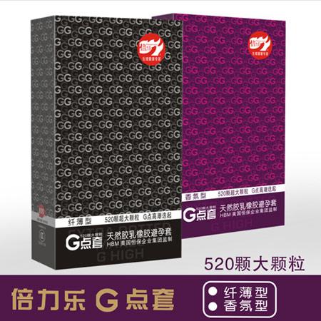 倍力乐G点纤薄安全套-安全套