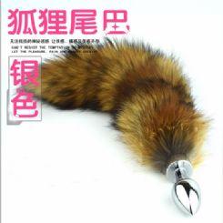 狐狸尾巴后庭肛塞用法图