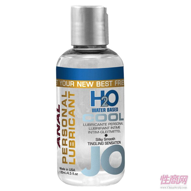 135ml JO H2O后庭冰感润滑液-润滑剂