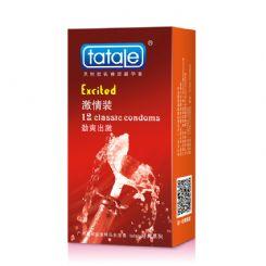 tatale经典系列激情装 香蕉香 安全套 12只装
