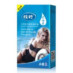 10只装狂野魅力版大油量避孕套安全套厂家批发