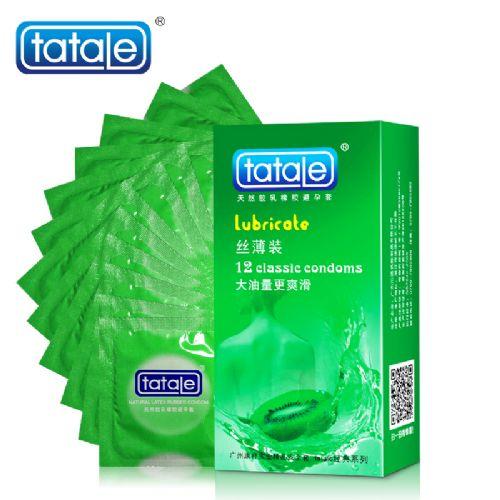 tatale经典系列丝薄装 水蜜桃 安全套 12只装