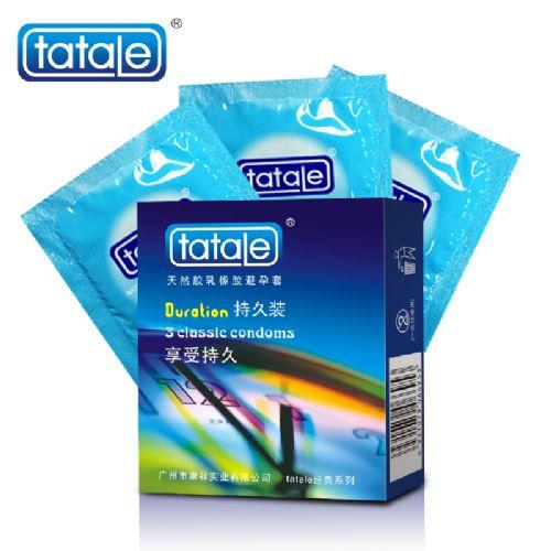 tatale经典系列持久装 香蕉香 安全套 3只装
