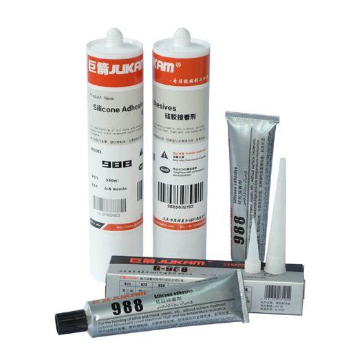 高档硅胶材料粘接专用胶水 988硅胶接着剂