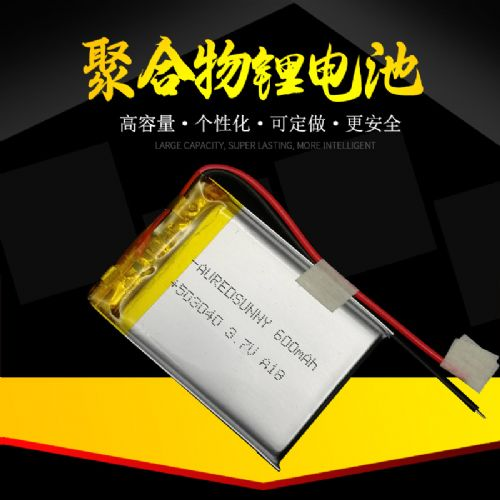 503040 3.7V600mah情趣振动棒用电池生产厂家100多个型号满足