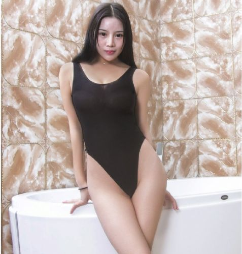 情趣内衣紧身连体衣透明性感诱惑情趣骚死水库日本学生泳衣女