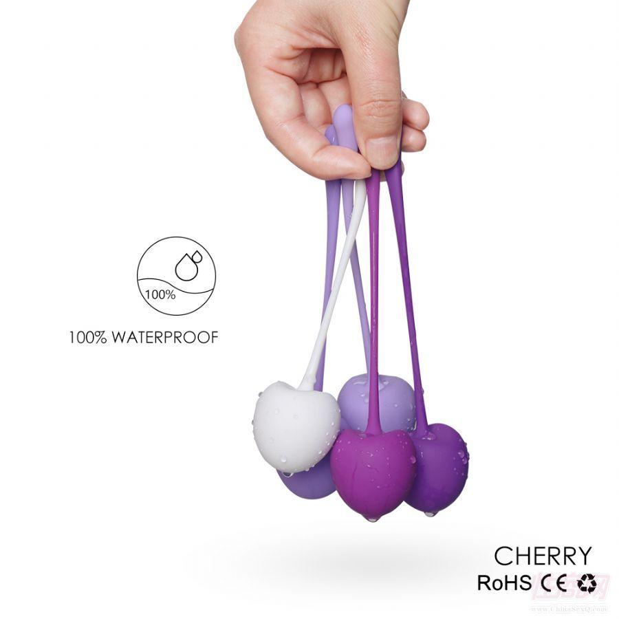 女性紧缩球 樱桃女用器具 女用凯格尔球5