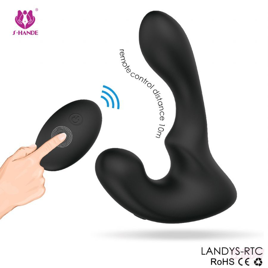 斯汉德 情趣成人用品男性肛塞前列腺按摩器 三频扣动 震动棒