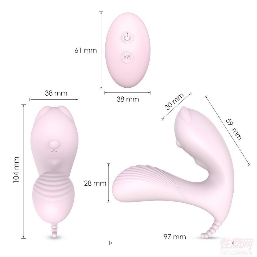 无线遥控蝴蝶女用穿戴遥控跳蛋情侣调教女用成人自慰器具用5