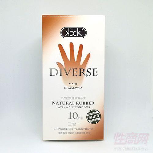 英国KXK三合一避孕套 10只装 进口安全套