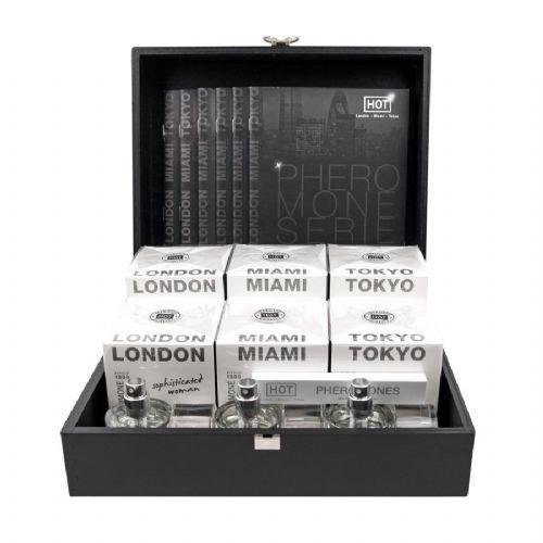 HOT 费洛蒙女士香水礼盒