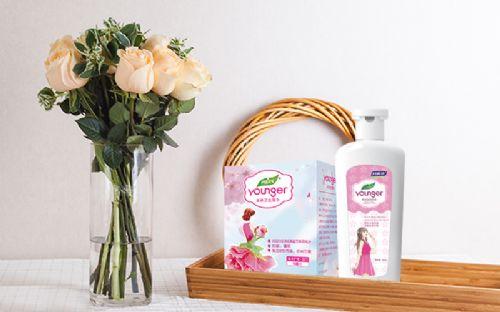 妇炎洁樱花盈润洗液温和不刺激女士外用产品