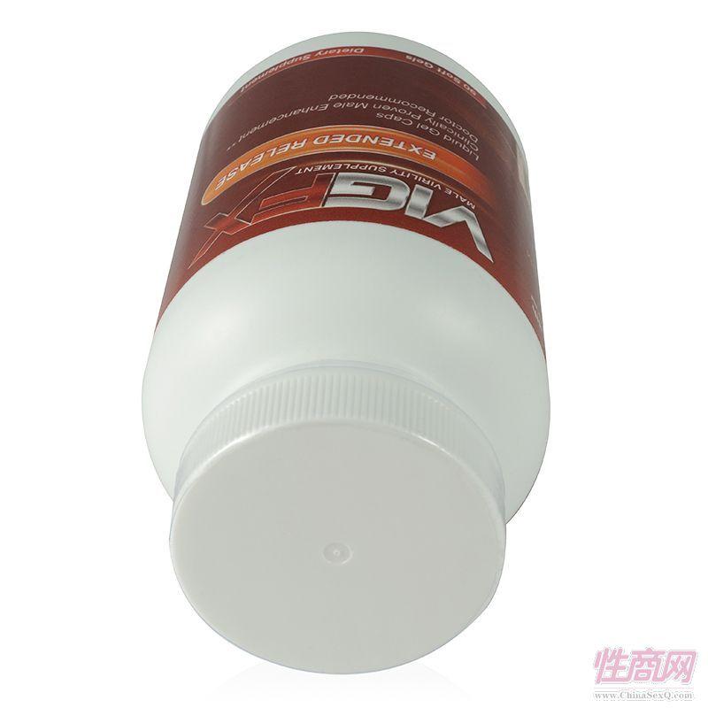美国VigFX威乐液体植物营养软胶囊男性固精保健品3