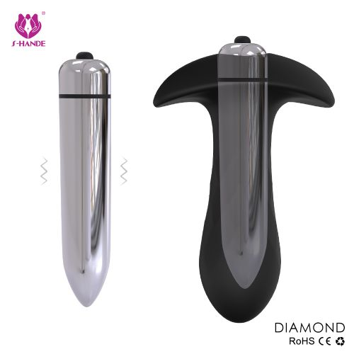 男女通用前列腺按摩棒多频震动肛塞后庭自慰器成人情趣用品