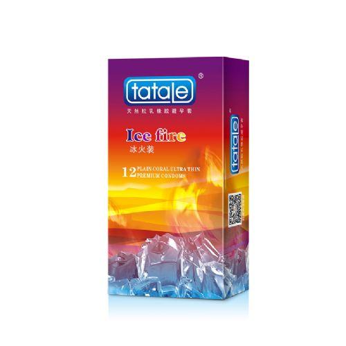 tatale 冰火系列 冰火装 12只装 安全套 避孕套