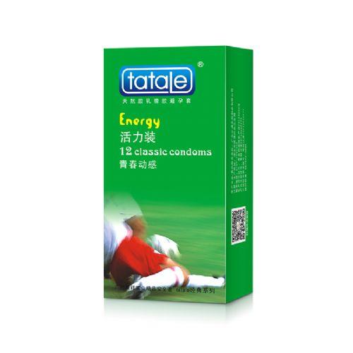 tatale经典系列活力装 水蜜桃 安全套 12只装