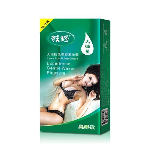 10只装狂野魅力版大油量光面避孕套安全套厂家批发