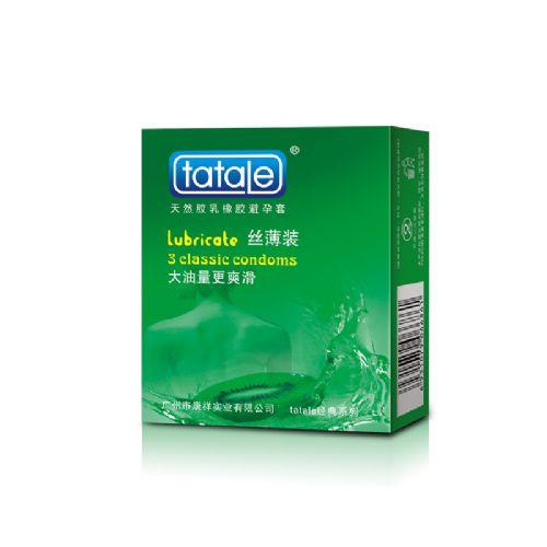 tatale经典系列丝薄装 水蜜桃 安全套 3只装