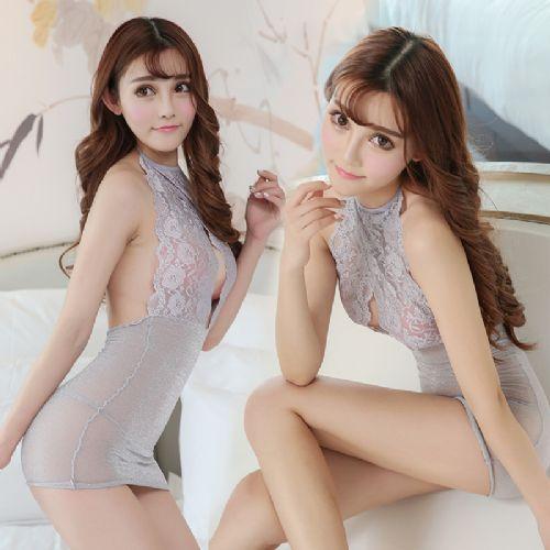情趣内衣透明亮丝夜店制服诱惑包臀成人性感睡裙代发